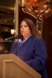 Angie Hartmann, WISTA Hellas President