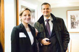 Irina Brundrett (Alwen Hough Johnson) and Nikolay Kolesnikov (RGS).
