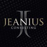 Jeanius square logo black