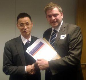 Mr. Li Hongwei and Jim Heath