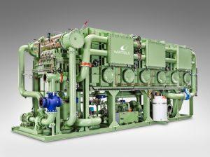 The Wärtsilä Serck Como fresh water generators produce the high quality fresh water needed onboard a cruise ship.