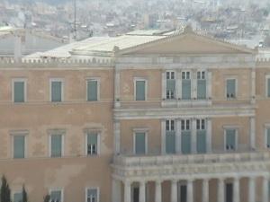 Greece's parliament building