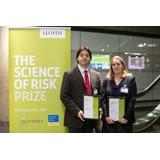 Scinece of Risk winners, Dr Erwann Michel-Kerjan and Dr. Juliet Biggs