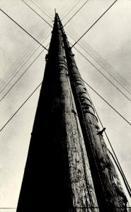 Radio Station Tower. Gelatin silver print. 1929. By Aleksandr Rodchenko. Jack Kirkland Collection. (c) Rodchenko & Stepanova Archive, DACS, RAO, 2014.