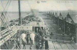 SS Finland at Red Star pier, Antwerp. (c) Friends of Red Star Line.