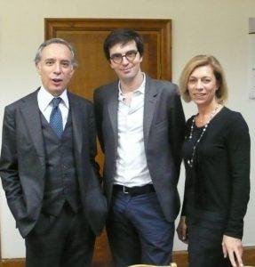 Ambassador Terracciano, Riccardo Wolfgang and Carola Syz.