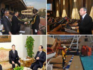 Pictures from IMO's Secretary-general in Egypt