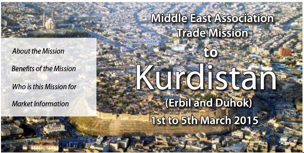 CT trade mission to Kurdistan Feb 2015