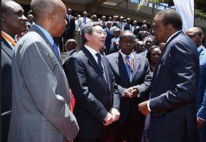 from the IMO's Secretary-General Koji Sekimizu visit in Kenya