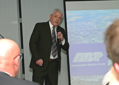 ABP Director Humber John Fitzgerald with footballing superstar Kevin Keegan (image courtesy of ABP/David Lee Photography)