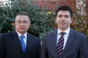 l to r:John Karavanić. CEO.TNG and Mario Pavić.CEO.Tankerska Povidba