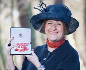 Outstanding achievement: Lesley Batchelor OBE.