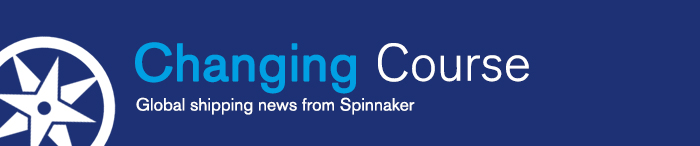 Spinaker logo on Changing Course