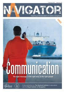 The Navigator - Issue 8 Front Cover