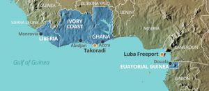 West Africa depots
