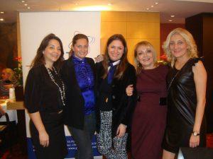 Maria Yiassa, Eleonora Linardi-Tomasos, Danae Bezantakou, Aurette Arkas, Wanda Costopoulos