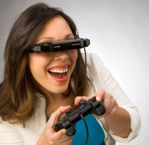 Smart viewing: Vuzix iWear® AV920.