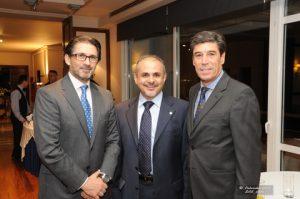 Chairmen of Hellenic Technical Committee Mr. Theodore Baltatzis and Mr. Akis Tsirigakis with Mr. Spyros Zolotas