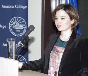 Ms Maria Dokopoulou, rep Institute of Educational Policy of the Ministry of Culture, Education and Religious Affairs