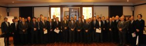 Photo of all the participants of the Hellenic Technical Committee.