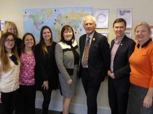 Teamjeanius with Gordon Marsden MP & Andrew Pakes