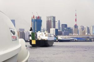 VIKING containers / Port of Tokyo
