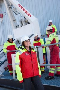 Central to the training centre has been the creation of a bespoke, real-time davit training rig. Now MacGregor will be able to offer highly-skilled personnel and service to its customers