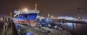 Damen Shiprepair Dunkerque installs ballast water treatment system to Cable Innovator