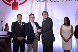 Mar Viva receiving the Green Shipping Award