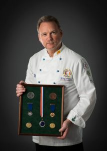 Master Chef Henry Anderson of Marine Catering Services (MCS)
