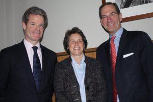 Michael Thompson, Ann Waite and Joseph Grasso.
