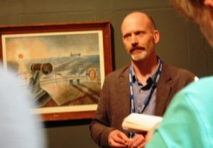 Curator James Russell.