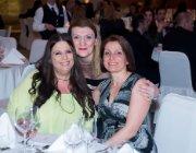 Smiling faces: Angie Hartmann, Despina Panayiotou Theodosiou and Maria Angellidou