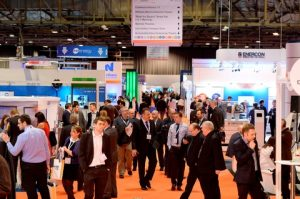 Busy aisles and stands were a feature of All-Energy 2015