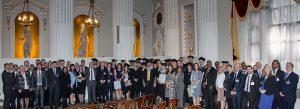 Celebrating unprecedented success: Institute of Export graduating students.