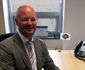 Maurits Mostert, Business Unit Manager at GAC Netherland's Schiphol office