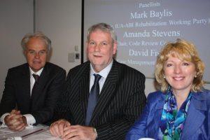 Mark Baylis, David Fisher and Amanda Stevens