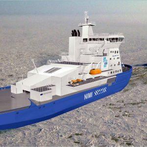 Arctic LNG Icebreaker