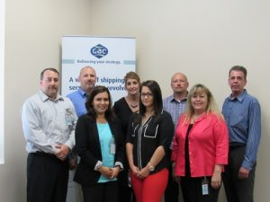 Management and staff at GAC North America – Logistics' new offices in Atlanta, Chicago, Detroit and Los Angeles gather at the main office in Houston.