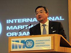 IMO's Secreatry-General Koji Sekimizu