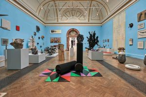 View of the Lecture Room Gallery. Photo John Bodkin, Dawkins Colour. (c)Royal Academy.