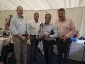 The winning team from Sunseeker London