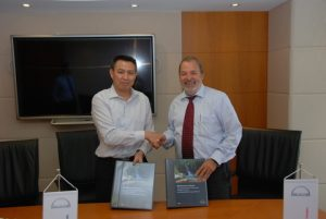 Wu Jianyi General Manager Tech. Dept. AMCL, Peter Dittrich - Head of Contract Management – MAN PrimeServ Turbocharger