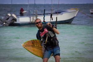 Jacob Bliksted Sørensen completes his 1, 000km kitesurf challenge in Mombasa, Kenya.