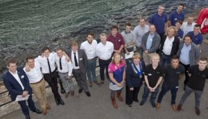 Apprentices at Southampton Boat Show