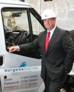 Burgess Marine managing director Nick Warren
