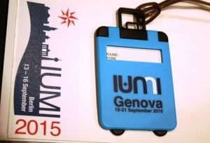 Now for IUMI 2016 in Genoa!