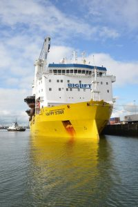 """Happy Star"""" arrival to Rotterdam"""""""
