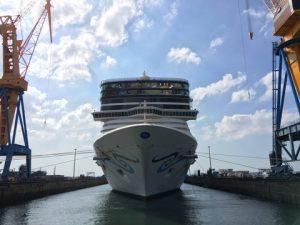 Norwegian Epic at Damen Shiprepair Brest