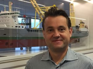 Sune Thorleifsson, new Head of Projects at SAL Heavy Lift (Photo credit: SAL Heavy Lift)